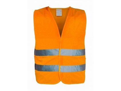 Vesta výstražná oranžová EN 20471:2013 Compass 01511