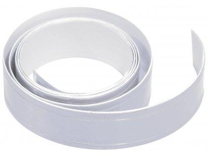 Samolepící páska reflexní 2cm x 90cm stříbrná Compass 01585