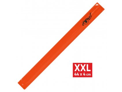 Pásek reflexní ROLLER XXL 4x44cm S.O.R. oranžový Compass 01694