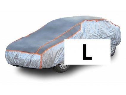 Ochranná plachta na auto proti kroupám L 480×177×119cm Compass 05981
