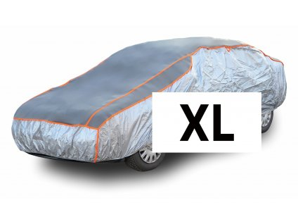 Ochranná plachta na auto proti kroupám XL 530×177×119cm Compass 05982
