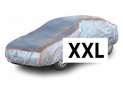 Ochranná plachta na auto proti kroupám XXL 570×203×119cm Compass 05983