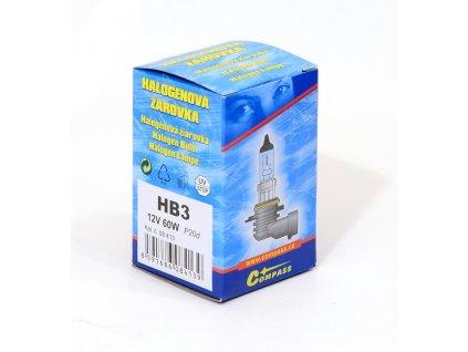 Žárovka 12V  HB3  60W P20d box Compass 08413
