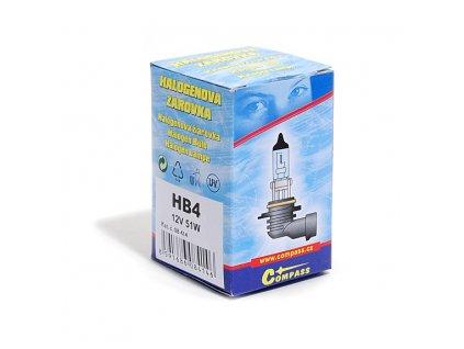 Žárovka 12V  HB4  51W P22d box Compass 08414