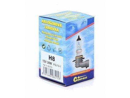 Žárovka 12V  H8  35W PGJ19-1 box Compass 08415