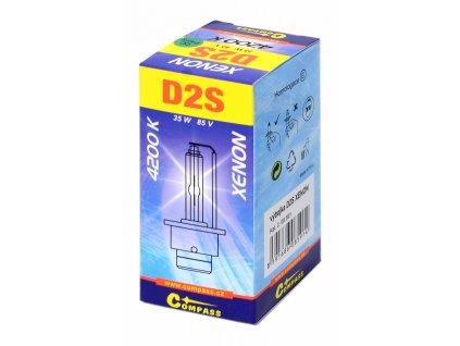 Výbojka D2S XENON homologovaná 4200K Compass 08591