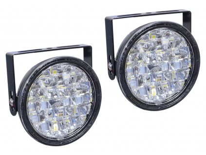 Světla denního svícení kulatá 18 LED/12V Compass 33541