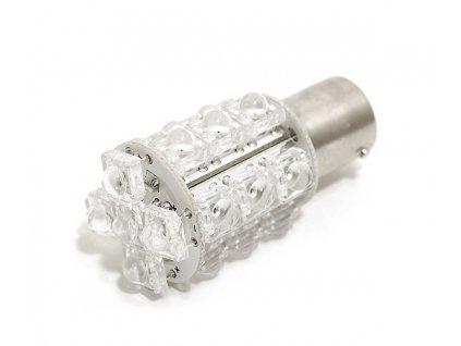 Žárovka 20 SUPER LED 12V BaU15s oranžová Compass 33791