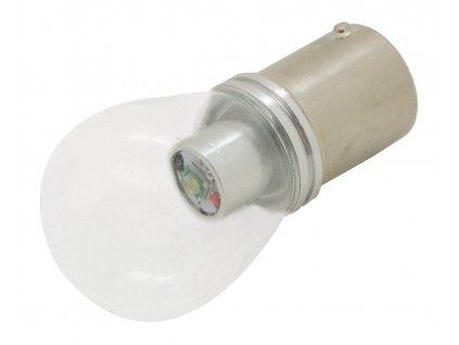 Žárovka 1 SMD LED 6chips 12V Ba15s CAN-BUS ready bílá 1ks Compass 33822