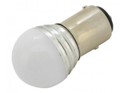 Žárovka 9 SMD LED 1chip 12V BaY15d CAN-BUS ready bílá 1ks Compass 33824