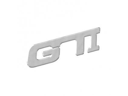 Znak GTI samolepící PLASTIC