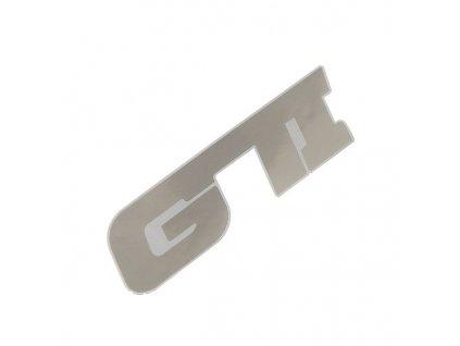 Znak GTI samolepící METAL velký Compass 35308