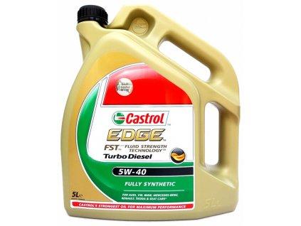 Olej motorový Castrol EDGE Turbo Diesel 5W-40 5L CASTROL 90641