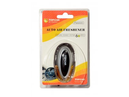 Stylový parfém do mřížky ventilace vozu, s regulací intenzity vůně.