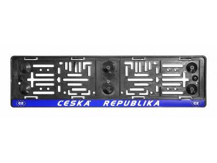Podložka pod SPZ  ČR-EU Compass 91535