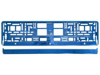 Podložka pod SPZ BLUE metallic Compass 91563