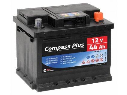 Autobaterie COMPASS PLUS 12V 44Ah 360A Compass AM27561