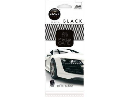 Osvěžovač Aroma CAR CITY CARD BLACK Compass AM92664