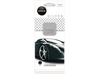 Osvěžovač Aroma CAR CITY CARD SILVER Compass AM92665