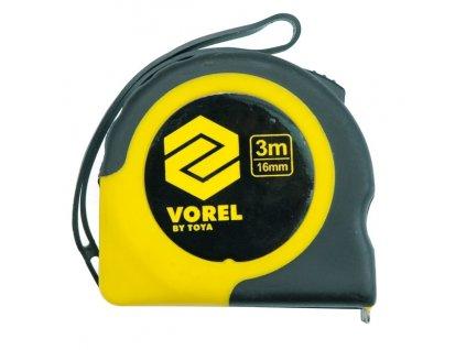 Metr svinovací 2 m x 16 mm žluto - černý Vorel TO-10101