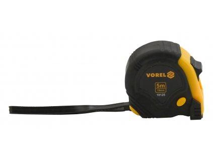 Metr svinovací 5 m x 19 mm žluto- černý Vorel TO-10125