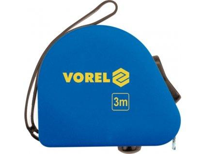Metr svinovací 5 m x 16 mm žlutý Vorel TO-10135