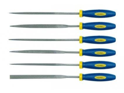 Sada pilníků jehlových 180 mm 6 ks VOREL Vorel TO-25353