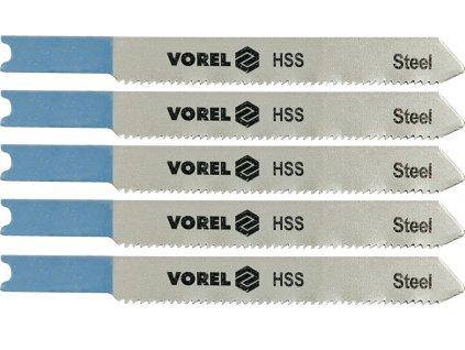 List do přímočaré pily 76 mm na kov a Al TPI24 5 ks Vorel TO-27832