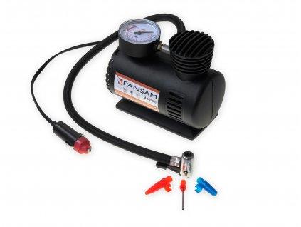 Kompresor automobilní.12 V 11 l/min 250 PSI PANSAM A040300