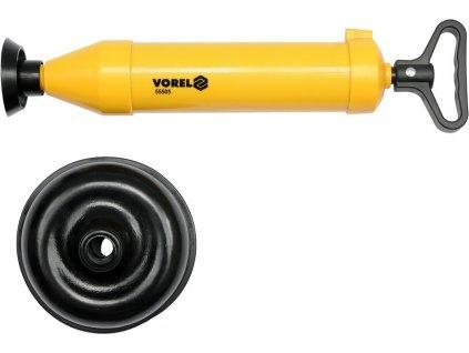 Ruční pumpička na čištění odpadů - zvon Vorel TO-55505