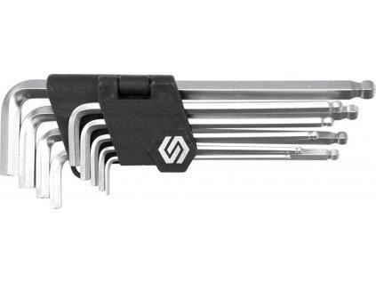 Sada klíčů inbus 9 ks s kuličkou Vorel TO-56475