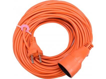 Kabel prodlužovací 30 m oranžový Vorel TO-82675