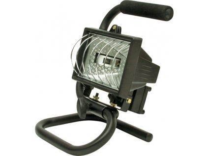 Lampa halogenová 120 W přenosná