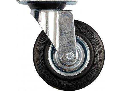 Kolečko otočné, gumové 100kg 125/34/155mm Vorel TO-87313