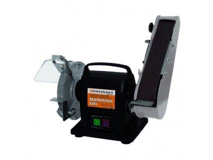Stolní bruska 200 W, 150x20 mm s brusným pásem PANSAM A067140