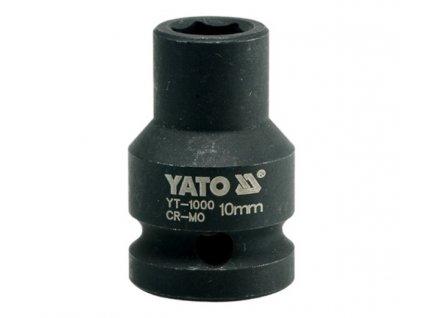 """Nástavec 1/2""""rázový šestihranný 10 mm CrMo Yato YT-1000"""