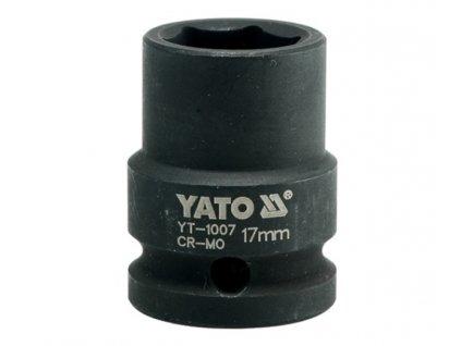 """Nástavec 1/2""""rázový šestihranný 17 mm CrMo Yato YT-1007"""