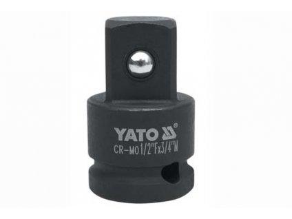 """Nástavec adaptér 1/2""""- 3/4""""rázový CrMo SCM-440 Yato YT-1067"""