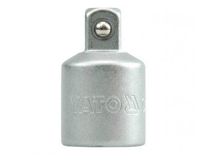 "Nástavec adaptér 1/2""F - 3/8""M DIN3121 CrV50BV30 Yato YT-1255"