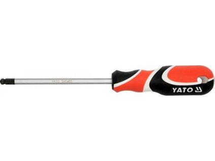 Šroubovák imbus 4 mm kulový magnetický Yato YT-1533