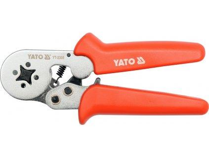 Kleště konektorové 175mm, HRC 44-47, 0,2-6,00mm2 Yato YT-2305