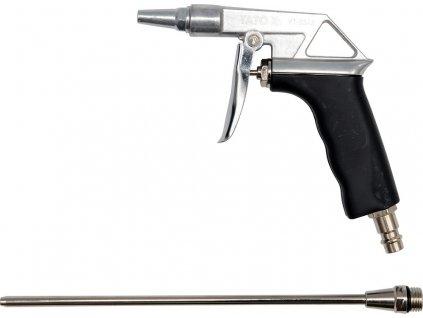"""Pistole na profukování dlouhá 0,8Mpa 1/4"""" Yato YT-2373"""