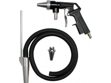 """Pískovací pistole s hadicí 1/4""""průměr 6,3mm Yato YT-2375"""