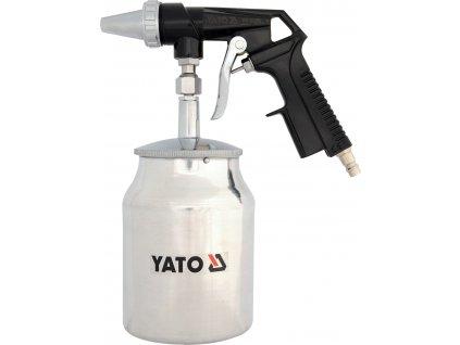 Pískovací pistole se zásobníkem 1.0L 160l/min