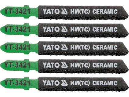 List pilový do přímočaré pily 75 mm na keramiku 5 ks