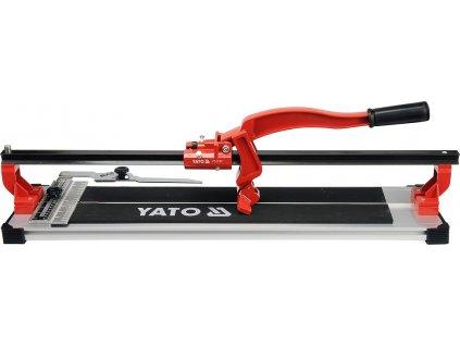 Řezačka na obklady a dlažbu 600 mm s přesným ložiskovým posuvem Yato YT-3707