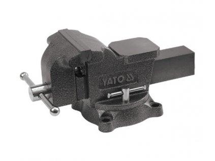 Svěrák zámečnický otočný 200 mm 21 kg Yato YT-6504
