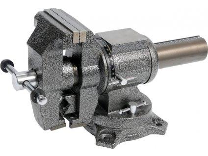 Svěrák zámečnický otočný 100 mm 10 kg polohovací