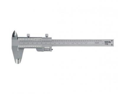 Měřítko posuvné 150 x 0,02 mm Yato YT-7200