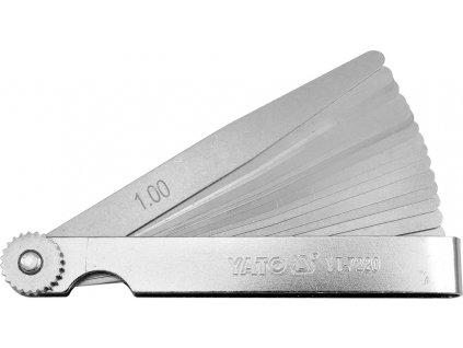 Měrka na spáry 100 x 10 mm 17 ks